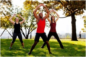Star Jumps / Jumping Jacks  - (2 Sets Of 15 To 24 Repetitions (Reps)