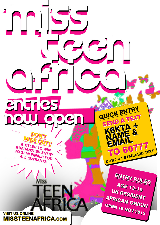 Miss Teen Africa Event