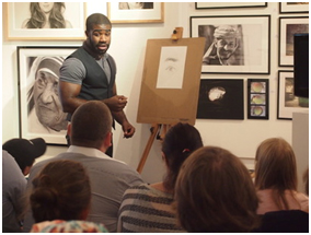 Kelvin Okafor Art Workshop
