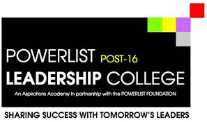 THE NEW COLLEGE WITH AN EDGE- 'The Powerlist Post 16 Leadership College