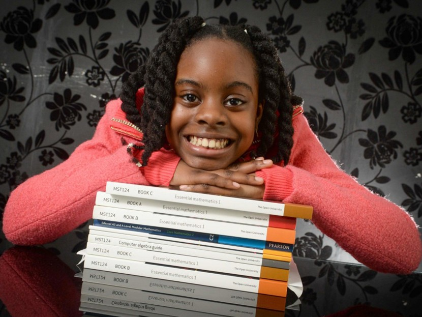 Esther Okade – 10 year old genius