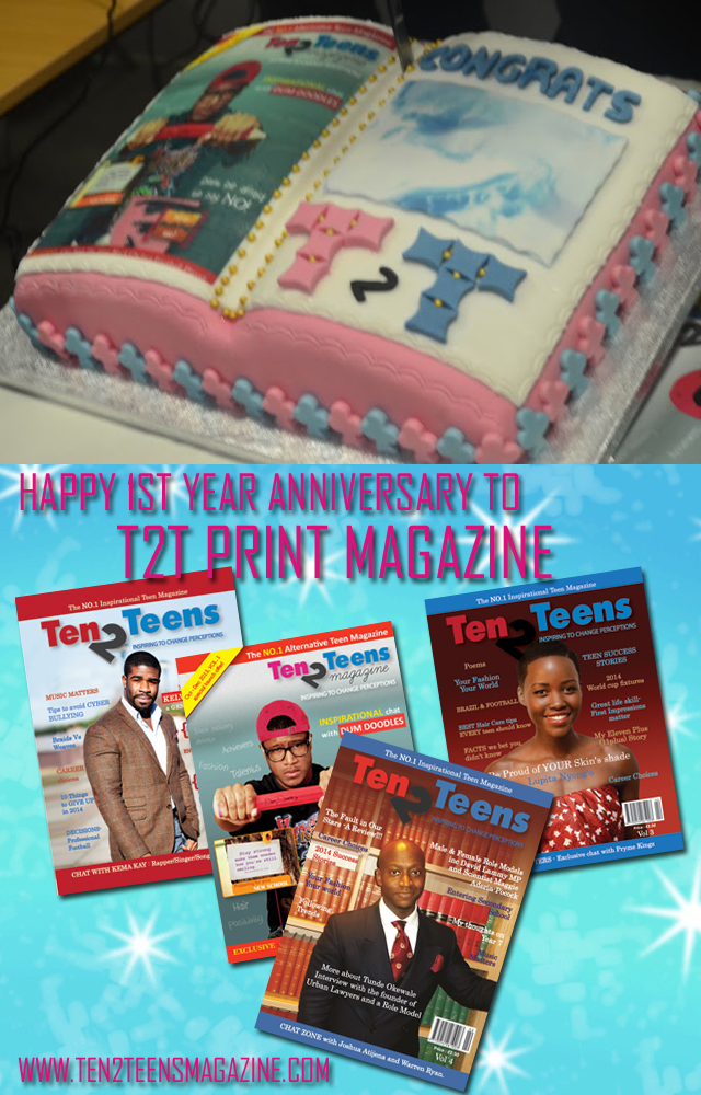 Happy 1st Year Anniversary to T2T Print Magazine
