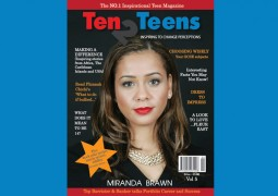 IT'S OUT!! IT'S OUT! YES THE 5TH ISSUE OF TEN2TEENS MAGAZINE IS OUT!