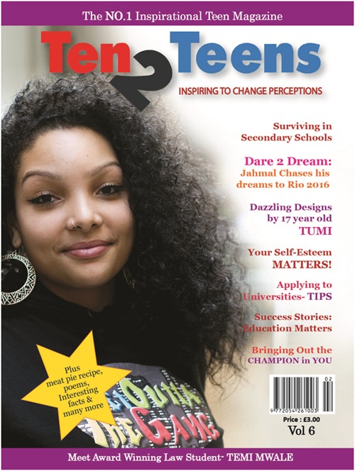 Re-Branding Ten2Teens Magazine