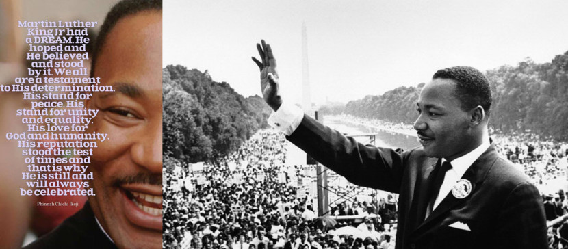 Martin Luther King Day 18th January 2016