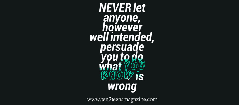 Never Let Anyone
