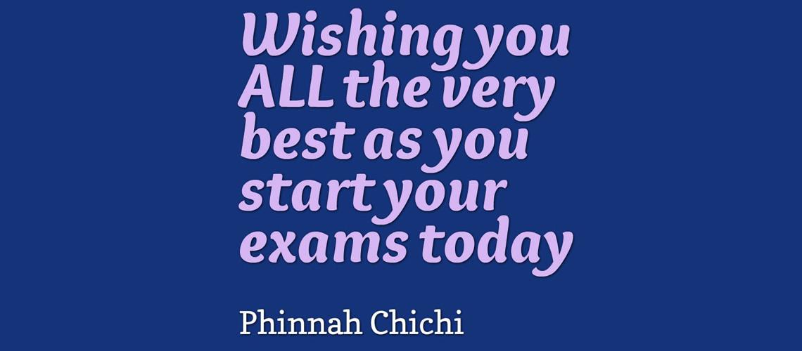 Exam – Best Wishes