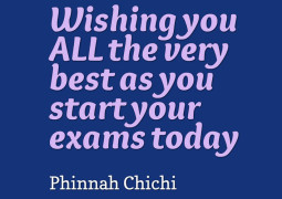 Exam - Best Wishes