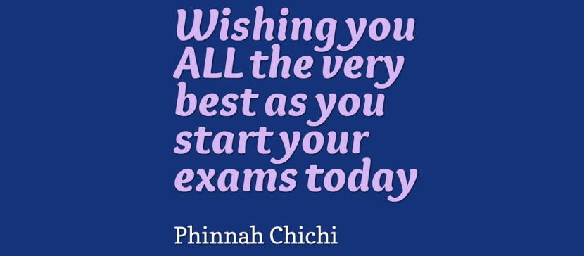Exam – Best Wishes