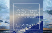 Do Not Compare Yourself