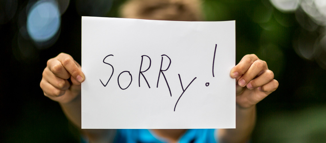 The Benefits of Apologizing To Your Children When You Do Wrong