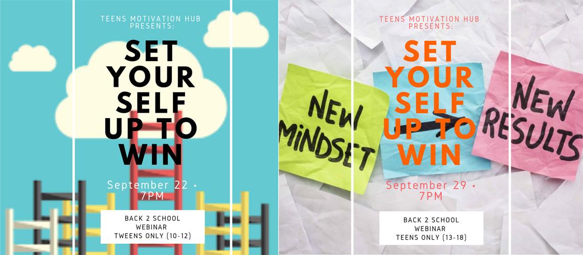 Back2School Webinar – Set Yourself up to Win