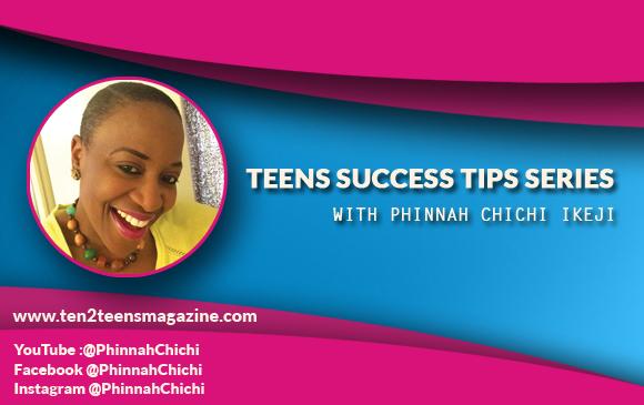 Teen Success Tips Series Tip 21 – Success